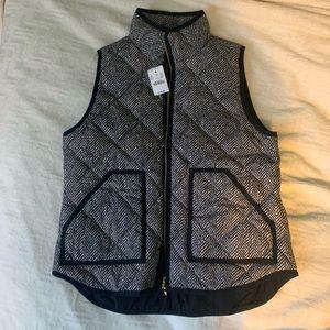 J. Crew Herringbone Vest - new with tags